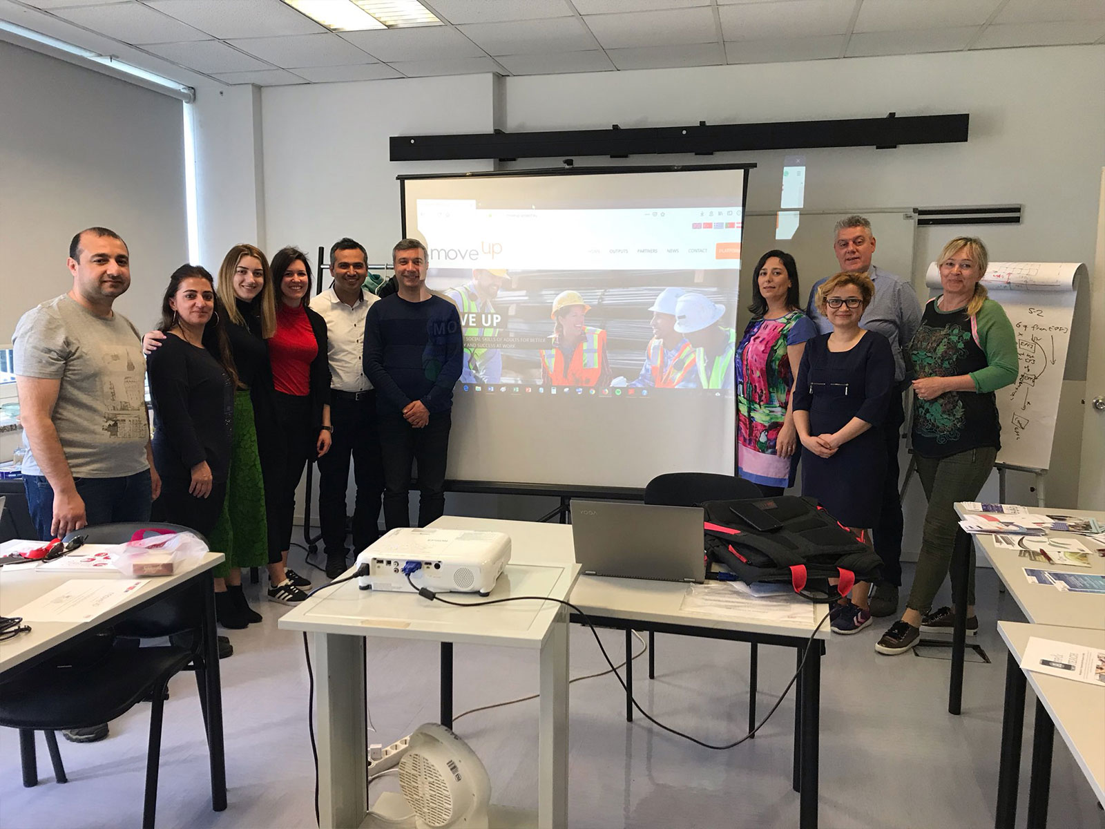 Projenin son uluslararası toplantısı Lizbon, Portekiz